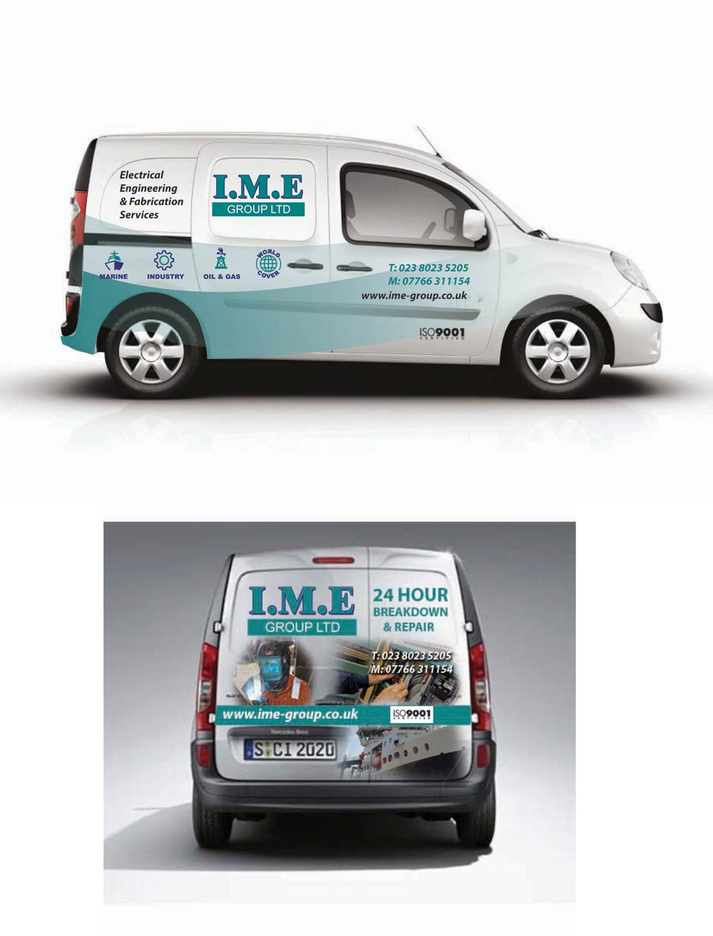 Introducing our new IME Group Vehicle Graphics!