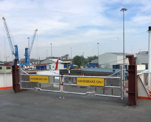 Isle of Wight Ferry Custom Gates